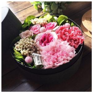 花束に愛を込めてフラワーBOXの贈り物♪ lpm0077