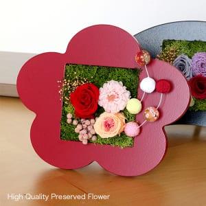 プリザーブドフラワーのお正月飾り 梅